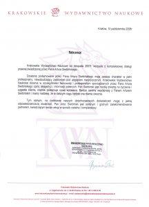 Krakowskie Wydawnictwo Naukowe Czyżowski i Czyżowska Sp.j.