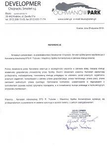 DEVELOPMER Chojnacki, Smoleń Sp. j.