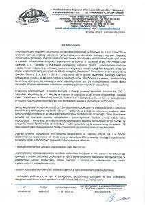 Przedsiębiorstwo Napraw i Utrzymania Infrastruktury Kolejowej w Krakowie Sp. z o.o.